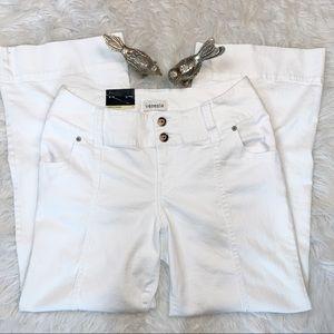 Lane Bryant Venezia White Stretch Trouser Jeans